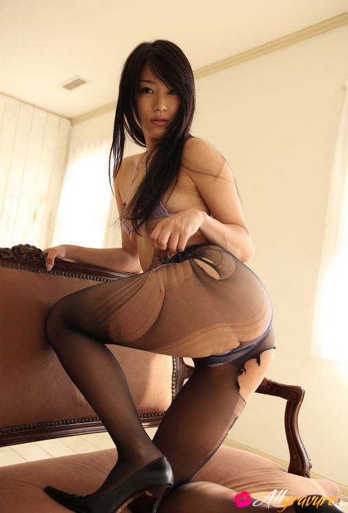 latex-brown-asian-secretary-video